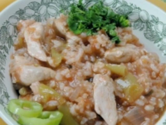 Славянски гювеч с пиле