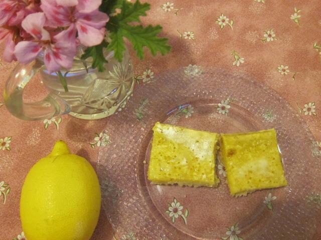 Американски лимонов сладкиш