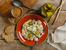 Картофена салата с кисели краставички и яйца