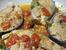 Сьомга с домати, босилек и пармезан