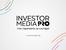 Investor Media Group стартира дигитална стрийминг платформа за събития