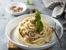 Спагети с бекон и чесън