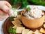 Разядка с шунка и крема сирене