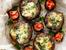 Пълнени гъби с домати и моцарела