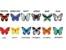 Пеперуди според месеца на раждане разкриват личността