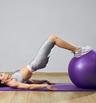 3 упражнения с фитнес топка