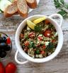 Средиземноморска салата с киноа и пиле