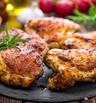 Пилешки бутчета с масло и чесън
