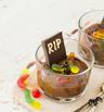 Шоколадов мус с кокосово мляко за Хелоуин