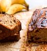 Бананов кекс с орехи и стафиди