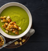 Крем супа с броколи и целина