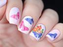 13 идеи за маникюр с точки и пеперуди