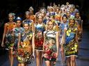 Dolce&Gabbana накара публиката на седмицата на модата в Милано да ахне