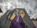 Графити изкуство в центъра на София