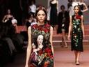 Романтичният образ на жената в колекцията на Dolce & Gabbana