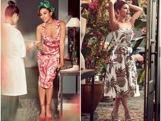 Новата колекция с рокли на Ева Мендес