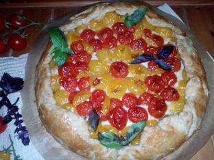 Галет с чери домати и сирене